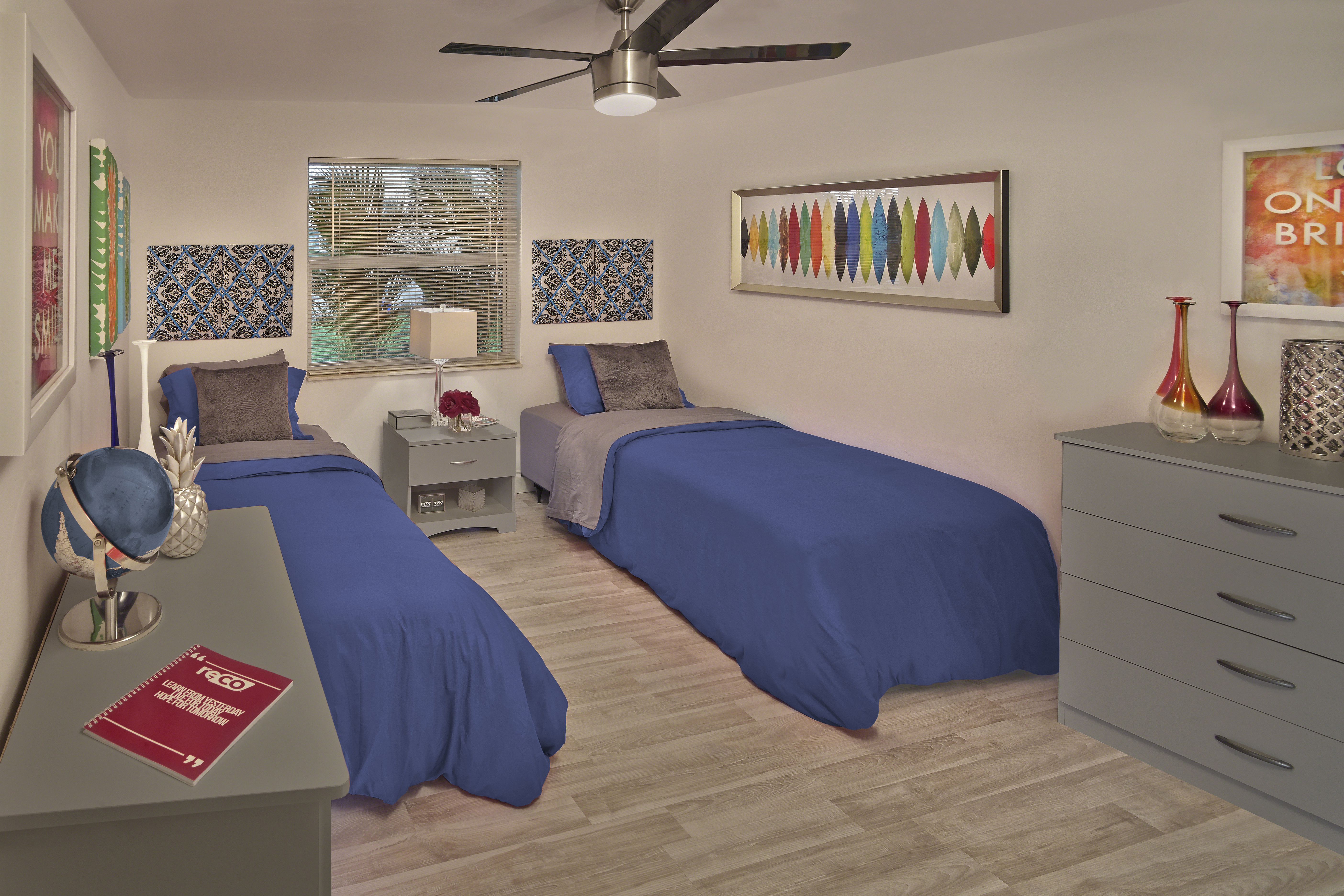 The Parker Sober Living House Bedrooms