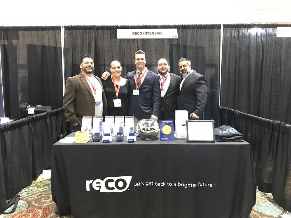 RECO Intensive Attends and Sponsors State of Recovery Conference